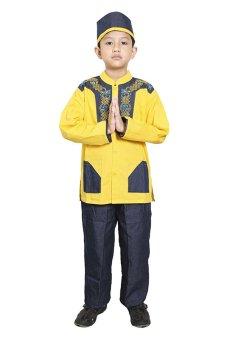 Fayrany Busana Muslim Anak Koko Denim FKD 002B