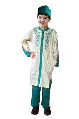 Fayrany Busana Muslim Anak Koko Pakistan FKW-003B - Hijau