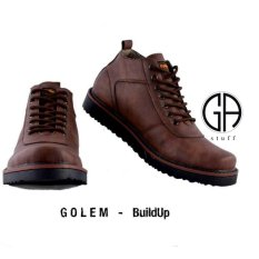 GA sepatu boots hummer golem - buildup brown