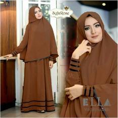 Gamis / Baju Wanita Muslim Syfarose Syari Kopi