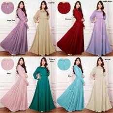 Gamis Jersey Polos Fit XL