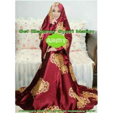 Gamis Syari Maxmara Emercy Choco Cek Harga Source · Gamis Syar i Maxmara Elegancy Maroon