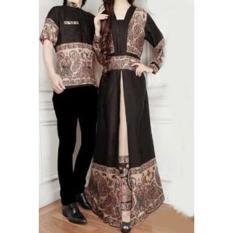Gamis Wanita / Baju Muslim / Hijab Cp Helona Hitam 10175