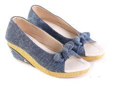 Garsel L494 Sandal Selop Wanita - Synth - Keren (Biru Muda)