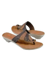 Garsel Sandal Wanita - Coklat