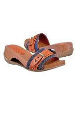Garsel Sandal Wanita S-344-S - Cokelat