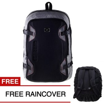 Gear Bag Backpack - Light Grey + FREE Raincover