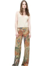 Stylish Low-Waisted Printed Wide Leg Women's Exumas Pants (As The Picture)