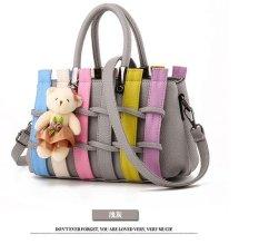 Genevieve Dc0030 Light Grey - Handbags - Tas Cantik Koreanstyle Colorful