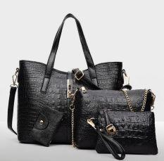 Genevieve DC1720 Black - Tas Set 3in1 - 3pcs Bag In 1 Special Package Price