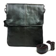 Genuine Leather Bag Men's Bags Small Shoulder Messenger Crossbody Bags Men's Leather Bag Men Handbag (Green) - Intl