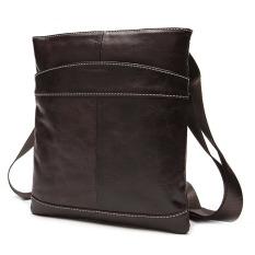 Genuine Leather Mens Bag Men Messenger Bags Fashion Brand Men Business Crossbody Bag Single Shoulder Bags - Intl