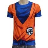 Ghope 3D T-Shirt Classic Anime Dragon Ball Z Super Saiyan 3D T-Shirt T-Shirt Cartoon Vegeta Armour T (Intl)