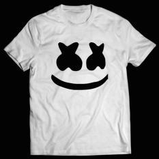 Gildan Marshmello White EDM T Shirt #3