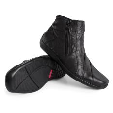 Gino Mariani Men's Shoes Elario 1 Leather- Hitam