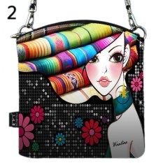Girl Women Shoulder Messenger Vintage Canvas Crossbody Satchel Handbag Phone Bag MZ