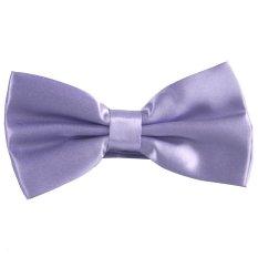 Gracefulvara Gentleman Men's Wedding Party Business Tuxedo Necktie Bow Tie Butterfly Cravat (Light Purple)