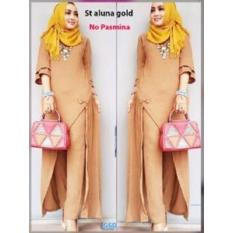 GSD-Baju Setelan Muslim Wanita-St Aluna Gold