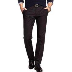 Gudang Fashion - Celana Formal Slim Fit - Hitam