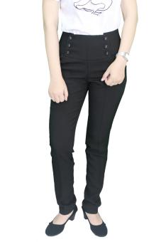 Gudang Fashion - Celana Formal Wanita Kantoran - Hitam