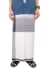 Gudang Fashion - Sarung Sholat - Hitam Putih