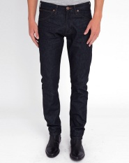 GudangGrosir Celana Jeans Pria Premium Slim Fit / Skinny BlueBlack