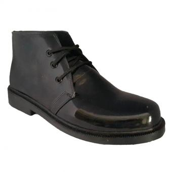 Handymen TNI lak ankle boot dress shoes - Black