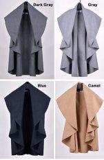 Happycat New Hot Sale Women's Wool Coat Ladies' Noble Elegant Cape / Shawl Poncho Wrap Scarves Coat (Swallow Gird) (Regular)