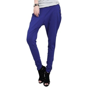 Harem Pants Trousers (Blue)