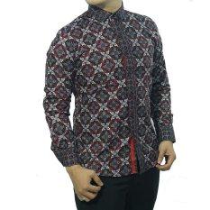Herman Batik Baju CB225 Kemeja Batik Pria Slimfit Fashion Jeans