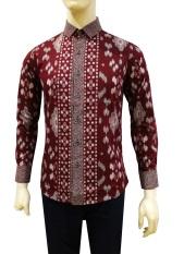 Herman Batik Kemeja Batik Slimfit A8150 Pria Kombinasi Muslim Koko Jeans