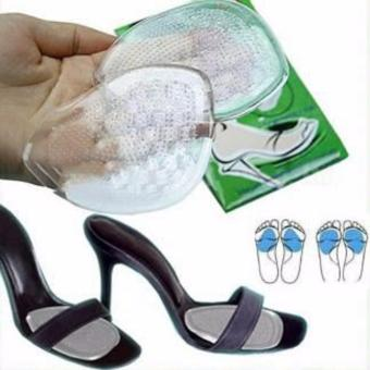 High Heel Shoes Pad Front Insole Gel Silicone Massaging