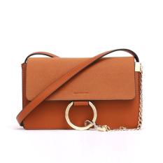 Hitam tas tas 2017 baru tas wanita messenger bag korea tas bahu liar rantai tas tas fashion kecil tas pasang