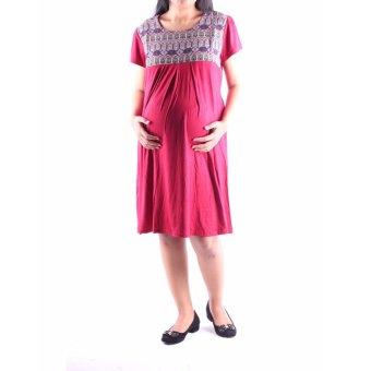 HMILL Baju Hamil Dres Hamil 1161 - Merah