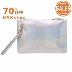 Teamtop Women Powder Small Shoulder Long Evening Clutch Bag Womens Elegant Crystal Ruched .