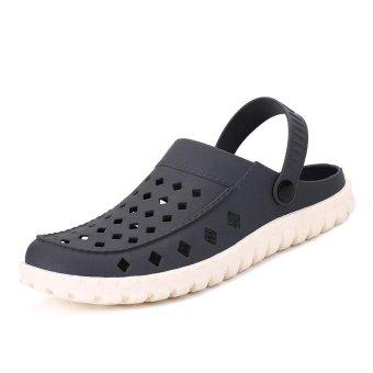 d83579fac19545 Hot Summer Mens Mules Clogs Eva Material Lightly Beach Garden Shoes Man Slippers  Clog Shoe Slipper