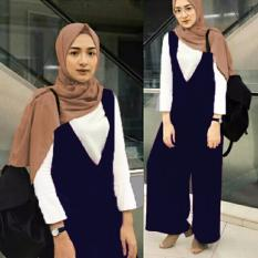 Hoziro Collection - Hijab Set 3in1 Overall Windya- Navy Blue