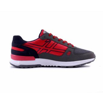 HRCN Sepatu Sneakers / Sport Running Shoes - Red Comb H 5367