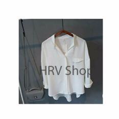 HRV Shop Kemeja Wanita Emma - Putih