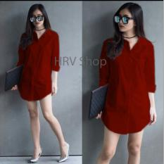 HRV Shop Tunik Wanita Shinta - Maroon