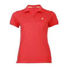 Hush Puppies Pakaian Polo Shirt Wanita Alana - Red