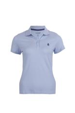 Hush Puppies Pakaian Polo Shirt Wanita Palmer Light Blue
