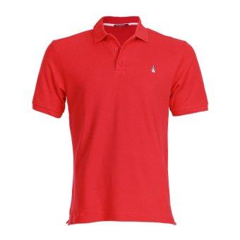 Hush Puppies Polo Shirt Pria Prime 7B Red