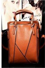 Ilife Women Messenger Bags New Women Handbag Retro Genuine Leather Bag Portable Shoulder Bag Women Leather Bag Brown