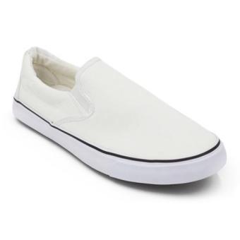Jual Sepatu Sneakers Kanvas Pria Everflow Vdq 01 Biru Hitam Murah .