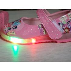 Import Sepatu Lampu LED Karakter Pony - Pink