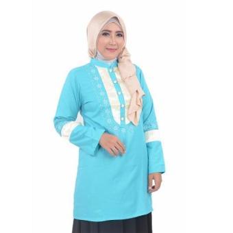 inara house -Blous Manet MB 018 - biru - M