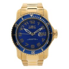 Invicta Pro Diver - Men's Watch - Gold - Stainless Steel Strap - 15347