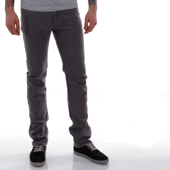 Ispro Celana Jeans Denim Abu Best Seller - Celana Denim Pria Best Seller Abu