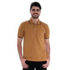 Jack Nicklaus Universal Polo Shirt - Bn Brown - Cokelat
